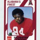 1989 Alabama Coke 580 Football #055 Sylvester Croom - Alabama Crimson Tide