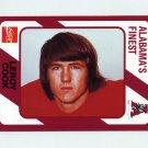 1989 Alabama Coke 580 Football #054 Leroy Cook - Alabama Crimson Tide