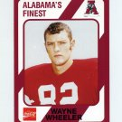 1989 Alabama Coke 580 Football #053 Wayne Wheeler - Alabama Crimson Tide