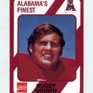 1989 Alabama Coke 580 Football #051 Buddy Brown - Alabama Crimson Tide