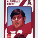 1989 Alabama Coke 580 Football #048 John Hannah - Alabama Crimson Tide