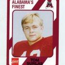 1989 Alabama Coke 580 Football #047 Tom Surlas - Alabama Crimson Tide