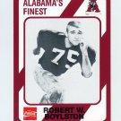 1989 Alabama Coke 580 Football #042 Robert W. Boylston - Alabama Crimson Tide