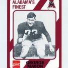 1989 Alabama Coke 580 Football #027 George Mason - Alabama Crimson Tide
