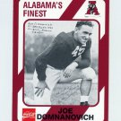 1989 Alabama Coke 580 Football #021 Joe Domnanovich - Alabama Crimson Tide