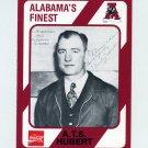 1989 Alabama Coke 580 Football #003 Pooley Hubert - Alabama Crimson Tide