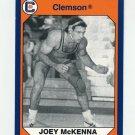 1990-91 Clemson Collegiate Collection #196 Joey McKenna - Clemson Tigers