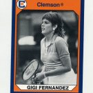 1990-91 Clemson Collegiate Collection #195 Gigi Fernandez - Clemson Tigers