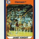 1990-91 Clemson Collegiate Collection #193 Janet Knight - Clemson Tigers