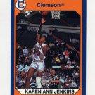 1990-91 Clemson Collegiate Collection #191 Karen Ann Jenkins - Clemson Tigers