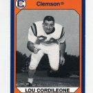 1990-91 Clemson Collegiate Collection #189 Lou Cordileone - Clemson Tigers