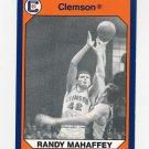 1990-91 Clemson Collegiate Collection #188 Randy Mahaffey - Clemson Tigers