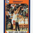 1990-91 Clemson Collegiate Collection #185 Mary Ann Cubelic - Clemson Tigers
