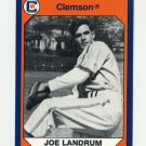 1990-91 Clemson Collegiate Collection #180 Joe Landrum - Clemson Tigers