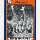 1990-91 Clemson Collegiate Collection #177 Richie Mahaffey - Clemson Tigers