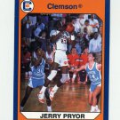 1990-91 Clemson Collegiate Collection #172 Jerry Pryor - Clemson Tigers