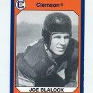 1990-91 Clemson Collegiate Collection #170 Joe Blalock - Clemson Tigers