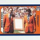 1990-91 Clemson Collegiate Collection #145 Chuck Kriese - Clemson Tigers