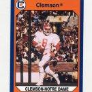 1990-91 Clemson Collegiate Collection #139 Clemson vs. Notre Dame - Clemson Tigers