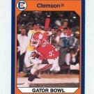 1990-91 Clemson Collegiate Collection #138 Clemson vs. West Virginia 1989 Gator Bowl