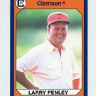 1990-91 Clemson Collegiate Collection #134 Larry Penley - Clemson Tigers