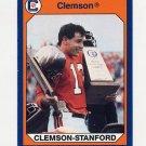 1990-91 Clemson Collegiate Collection #131 Clemson vs. Stanford - Clemson Tigers