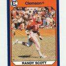 1990-91 Clemson Collegiate Collection #129 Randy Scott - Clemson Tigers