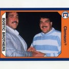 1990-91 Clemson Collegiate Collection #127 Jeff Bostic / Joe Bostic - Clemson Tigers