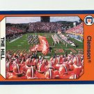 1990-91 Clemson Collegiate Collection #120 Hill Shot From Board - Clemson Tigers