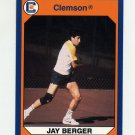 1990-91 Clemson Collegiate Collection #117 Jay Berger - Clemson Tigers