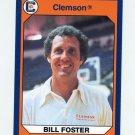 1990-91 Clemson Collegiate Collection #114 Bill Foster - Clemson Tigers
