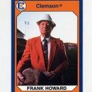 1990-91 Clemson Collegiate Collection #113 Frank Howard - Clemson Tigers