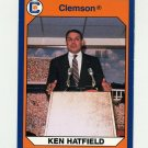 1990-91 Clemson Collegiate Collection #108 Ken Hatfield - Clemson Tigers