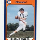 1990-91 Clemson Collegiate Collection #104 Charlie Waters - Clemson Tigers