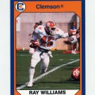 1990-91 Clemson Collegiate Collection #102 Ray Williams - Clemson Tigers