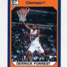 1990-91 Clemson Collegiate Collection #097 Derrick Forrest - Clemson Tigers