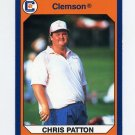 1990-91 Clemson Collegiate Collection #090 Chris Patton - Clemson Tigers
