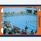 1990-91 Clemson Collegiate Collection #088 Swimming Pool - Clemson Tigers