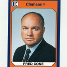 1990-91 Clemson Collegiate Collection #081 Fred Cone - Clemson Tigers