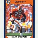 1990-91 Clemson Collegiate Collection #078 Gary Cooper - Clemson Tigers