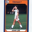 1990-91 Clemson Collegiate Collection #075 John Lee - Clemson Tigers