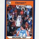 1990-91 Clemson Collegiate Collection #074 Michael Tait - Clemson Tigers