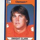 1990-91 Clemson Collegiate Collection #071 Dwight Clark - Clemson Tigers