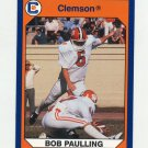 1990-91 Clemson Collegiate Collection #060 Bob Paulling - Clemson Tigers