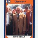 1990-91 Clemson Collegiate Collection #055 Jess Neely - Clemson Tigers