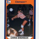 1990-91 Clemson Collegiate Collection #052 Chris Sherman - Clemson Tigers