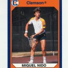 1990-91 Clemson Collegiate Collection #050 Miguel Nido - Clemson Tigers