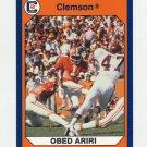 1990-91 Clemson Collegiate Collection #048 Obed Ariri - Clemson Tigers