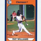 1990-91 Clemson Collegiate Collection #047 Ray Williams - Clemson Tigers
