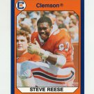 1990-91 Clemson Collegiate Collection #046 Steve Reese - Clemson Tigers